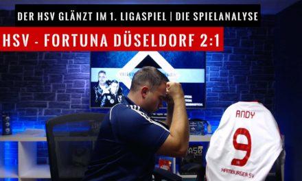 HSV – Fortuna Düsseldorf 2:1 | Spielanalyse VaterSohn