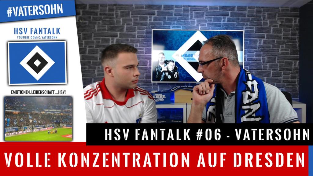 HSV Fantalk - Dresden DFB Pokal Spiel 1. Runde