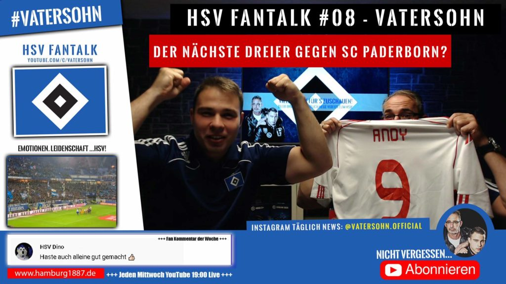 HSV Fantalk - Der nächste Sieg gegen SC Paderborn?