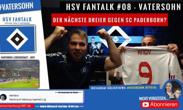 HSV NEWS Fantalk #08 🖤🤍💙 | SC Paderborn vor der Brust