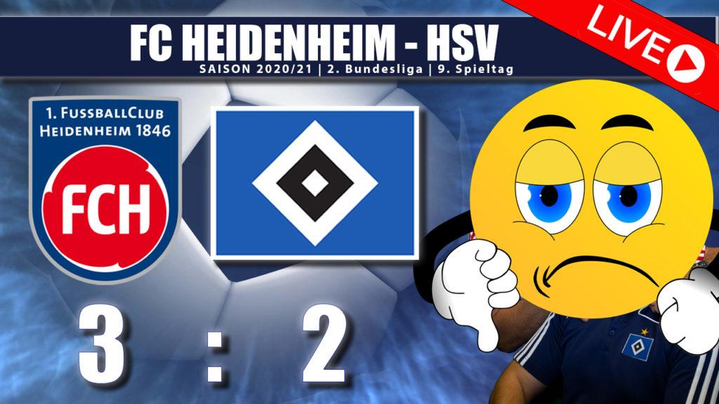 FC Heidenheim - HSV 3:2 Spielanalyse