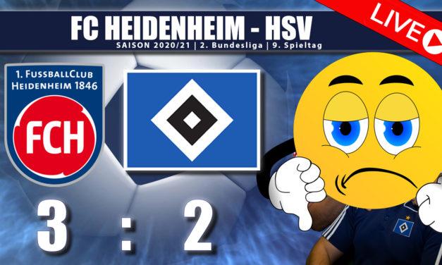 FC Heidenheim – HSV 3:2 | Was ist nur los mit Euch Jungs ?