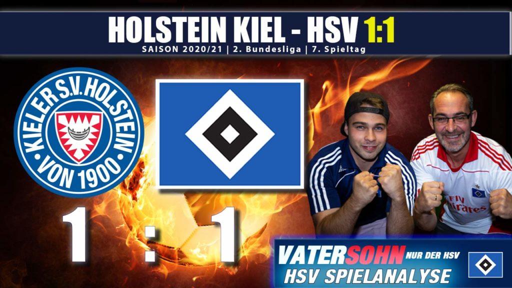 HSV - Holstein Kiel 1:1 Spielanalyse