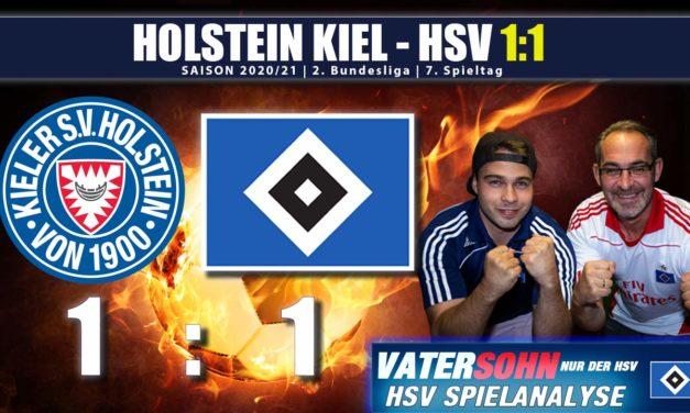 Holstein Kiel – HSV 1:1 | HSV kann nicht gegen Kiel gewinnen