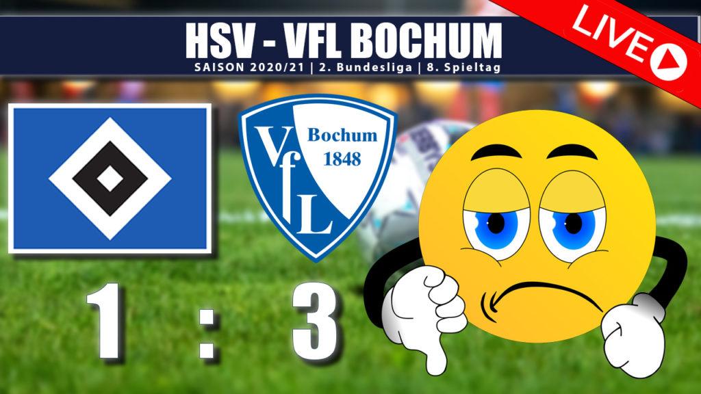 HSV - VFL Bochum 1:3