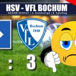 HSV – VFL Bochum 1:3 | Bochum zeigt dem HSV die Grenzen auf