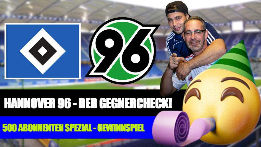 HSV - Hannover 96 Gegnercheck - Gewinnspiel