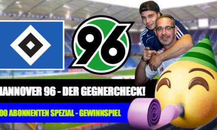 HSV – Hannover 96 Gegnercheck | 500 Abonnenten Gewinnspiel